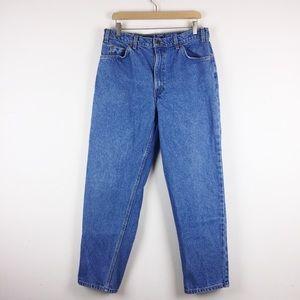 Vintage Levi's orange tab high waisted mom jeans